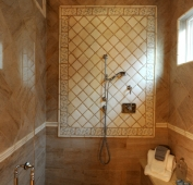 Lake Home Master Shower