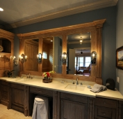 Lake Home Master Bath