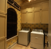 Lake Home Laundry Room