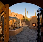 Desert Home Entry