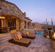Desert Home Poolside